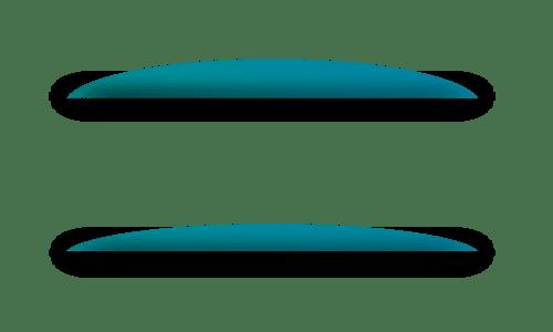 Dünneres Gleitsichtglas durch doppelte Progression
